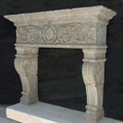 Antique Fireplace Mantles