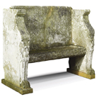 Antique Stone Benches